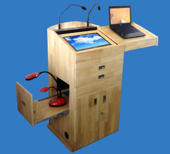 Smart Wooden Podium